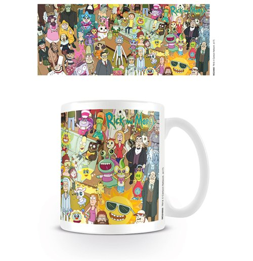 Tasse Rick And Morty - Characters