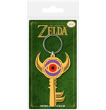 Legend of Zelda porte-clés caoutchouc Boss Key 6 cm