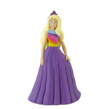 Barbie Dreamtopia mini figurine Barbie Fantasy Purple Dress 10 cm