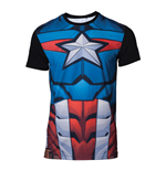 T-shirt Captain América  286702