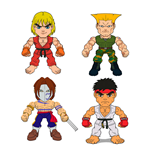 Street Fighter Wave 1 présentoir figurines 8 cm (16)