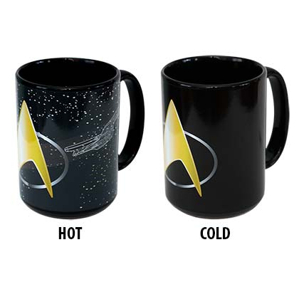 Tasse Thermosensible Star Trek