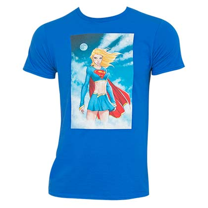 T-shirt Supergirl - Comic Panel