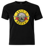 T-shirt Guns N' Roses - Circle Logo