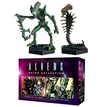 Aliens Retro Collection pack 2 figurines Mantis Alien & Snake Alien 13 cm