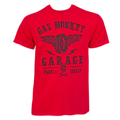 T-shirt Gas Monkey Garage - Wings Logo