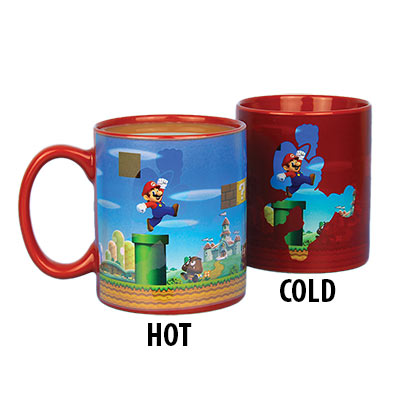 Tasse Thermosensible Super Mario Bros.