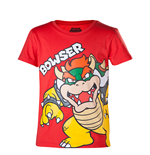 T-shirt Super Mario - Bowser