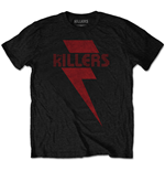 T-shirt The Killers: Red Bolt