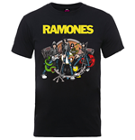 T-shirt Ramones: Road to Ruin