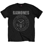 T-shirt Ramones: Distressed Presidential Seal