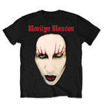 T-shirt Marilyn Manson pour homme - Design: Red Lips