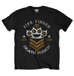 T-shirt Five Finger Death Punch  pour homme - Design: Chevron