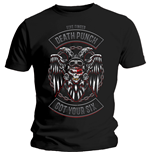 T-shirt Five Finger Death Punch  pour homme - Design: Biker Badge