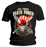 T-shirt Five Finger Death Punch  pour homme - Design: Zombie Kill