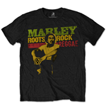 T-shirt Bob Marley: Roots, Rock, Reggae