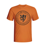 T-shirt Hollande Football (Orange)