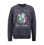 Sweat-shirt Rick And Morty X Absolute Cult - Christmas Portal