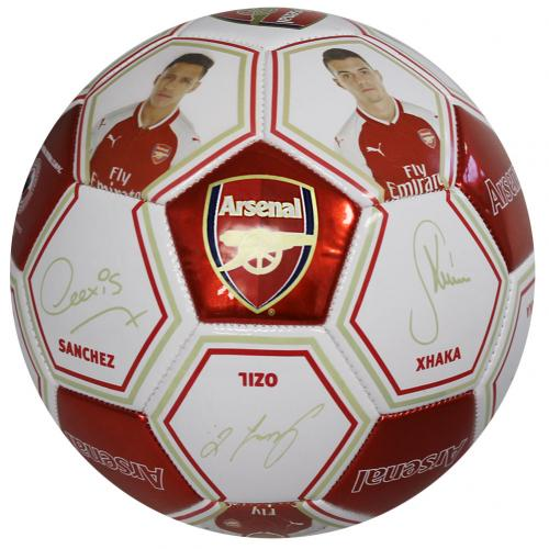 Ballon de Football Arsenal FC - Photo et Autographes