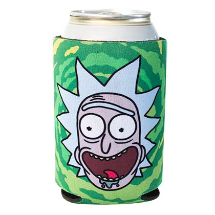 Koozie Isolant Rick and Morty - Screaming Rick