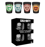 Call of Duty Set 4 verres à liqueur Premium Perks