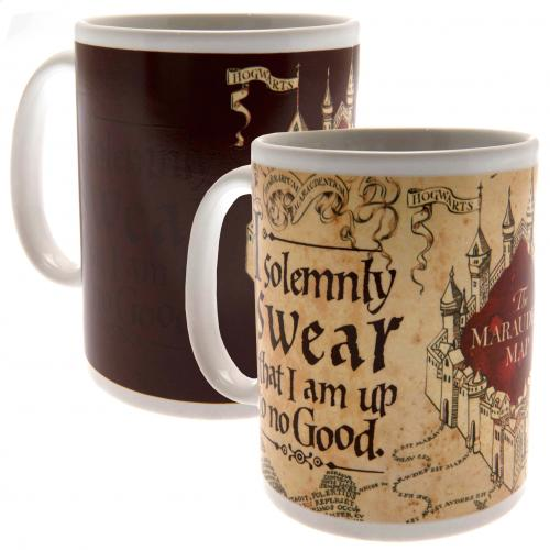 Tasse Thermosensible Harry Potter - Carte du Maraudeur