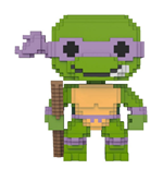 Les Tortues Ninja 8-Bit POP! Vinyl Figurine Donatello 9 cm