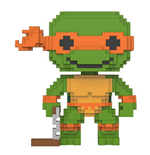 Les Tortues Ninja 8-Bit POP! Vinyl Figurine Michelangelo 9 cm
