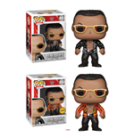 WWE Wrestling assortiment POP! WWE Vinyl figurines The Rock (Old School) 9 cm (6)