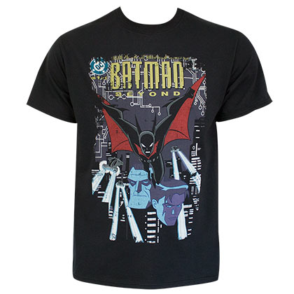 T-shirt Batman - Beyond Comic Cover