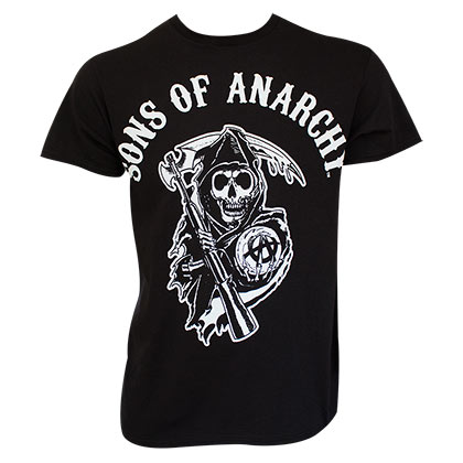 T-shirt Sons of Anarchy - Classic Reaper Logo