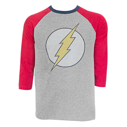 T-shirt Manches Raglan The Flash