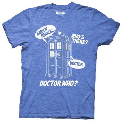 T-shirt Doctor Who - Knock Knock