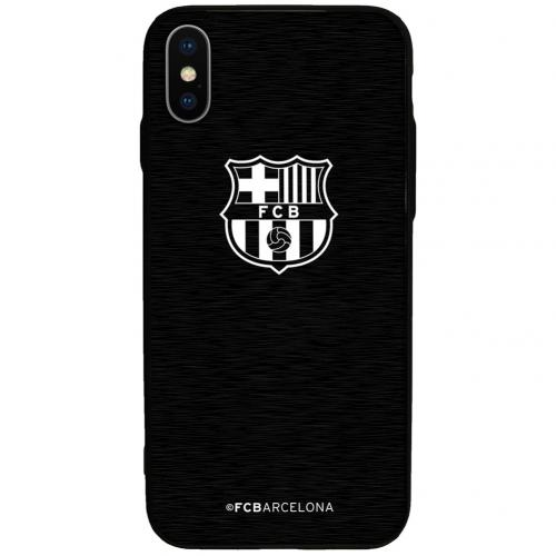 Coque iPhone X FC Barcelone