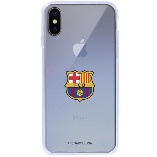 Coque TPU iPhone X FC Barcelone