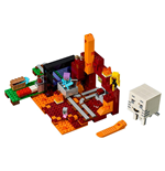 LEGO® Minecraft™ Le portail du Nether
