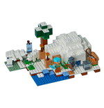 LEGO® Minecraft™ L'igloo