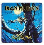 Iron Maiden sous-verres Fear of the Dark (6)