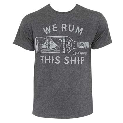 T-shirt Captain Morgan - We Rum This Ship