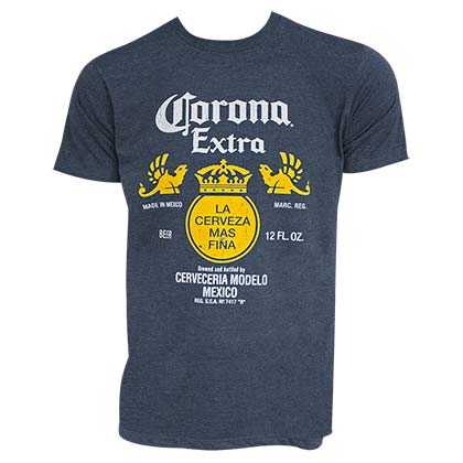 T-shirt Corona Extra - Bottle Label