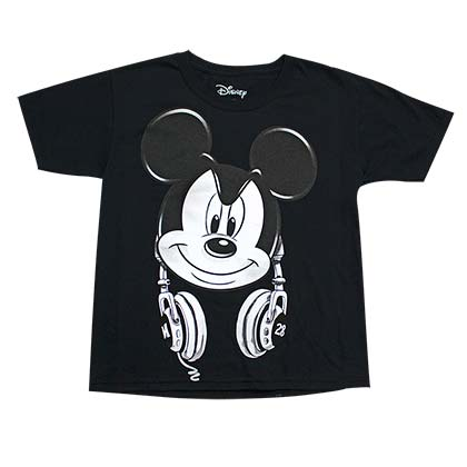 T-shirt Mickey Mouse Headphones