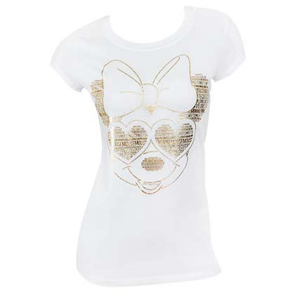 T-shirt Minnie Mouse - Gold Foil
