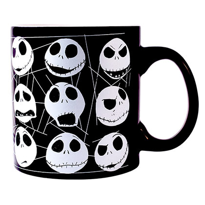 Tasse Nightmare before Christmas Brille dans le Noir
