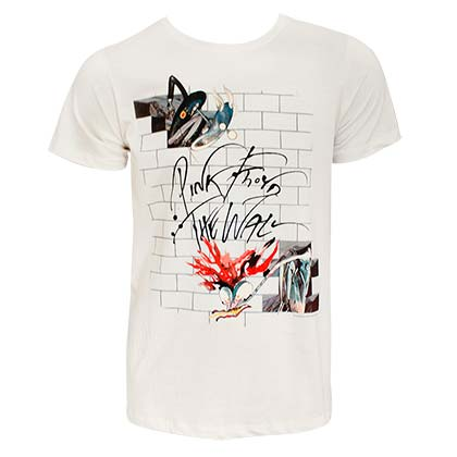 T-shirt Pink Floyd - The Wall Off