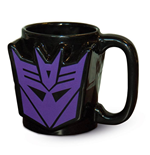 Transformers G1 mug 3D Decepticon Shield