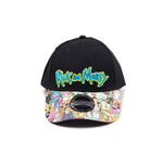 Rick & Morty casquette baseball Sublimated Print Curved Bill