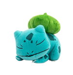 Pokemon peluche Sleeping Bulbizarre 16 cm