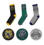 Harry Potter pack 3 paires de chaussettes Quidditch Hogwarts