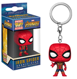 Avengers Infinity War porte-clés Pocket POP! Vinyl Iron Spider 4 cm