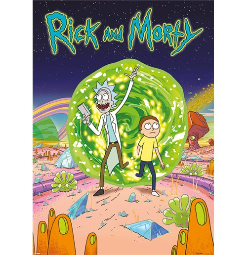 Poster Rick and Morty 291945